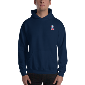 UNITED KINGDOM... Travellers Logo...Hooded Sweatshirt