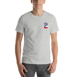 CHILE Travellers Logo....Short-Sleeve..... Unisex.... T-Shirt
