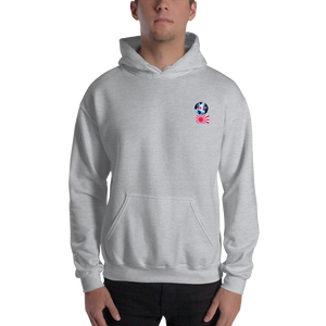 JAPAN... Travellers Logo....Hooded Sweatshirt