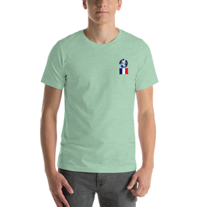 FRANCE Travellers Logo....Short-Sleeve..... Unisex.... T-Shirt