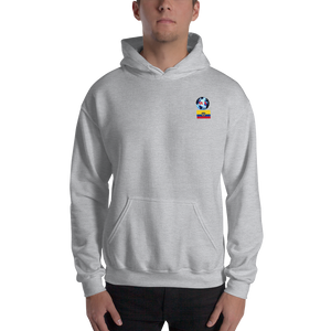 ECUADOR Travellers Logo....Hooded Sweatshirt