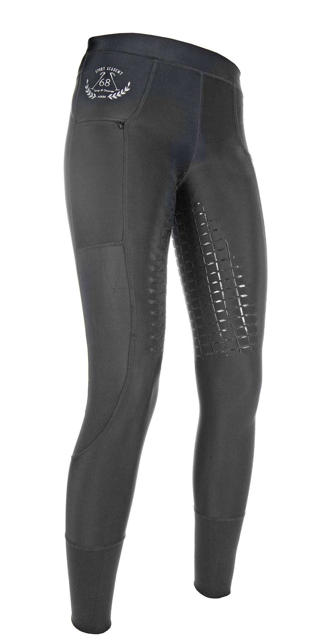 Riding leggings -Mesh- silicone full seat