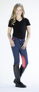 Riding breeches Disney -Minnie Mouse- silicone kne