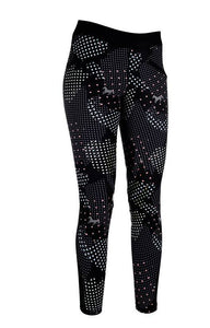 Riding leggings -Fancy- silicone full seat