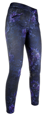 Riding leggings -Moena- silicone knee patch