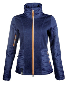 Knitted/nylon jacket -Hickstead-
