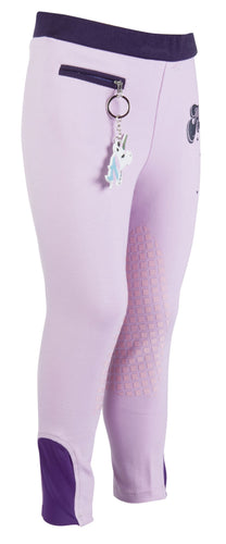 Riding leggings -Bellamonte- silicone knee patch
