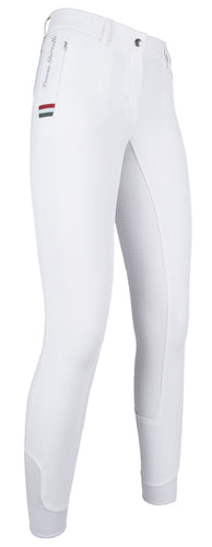 Riding breeches -LG Basic Italy-silicone full seat
