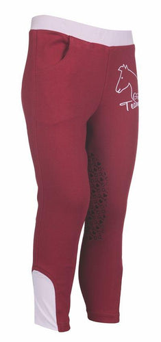 Riding leggings -Piccola- silicone knee patch
