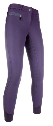 Riding breeches -Moena MAY Piping- silic.full seat