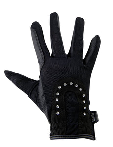 Riding gloves -Glitter-