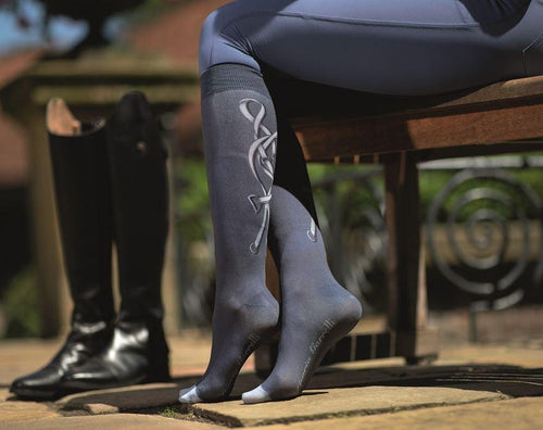 Riding socks -Limoni-