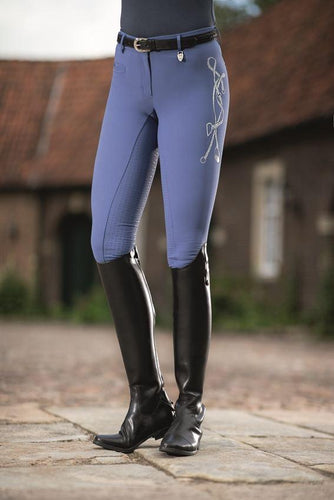 Riding breeches -Limoni LIZ- silicone full seat
