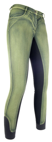 Riding breeches -Astrid- silicone full seat