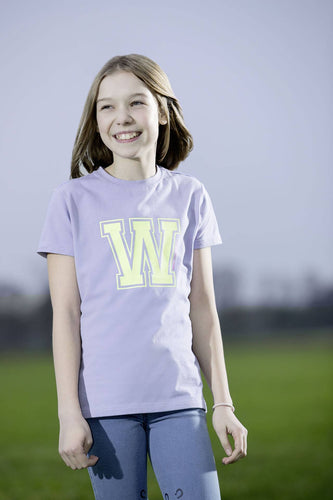 T-shirt -Wendy Yellow W-
