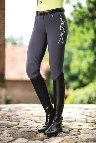 Riding breeches -Limoni LIZ- silicone knee patch