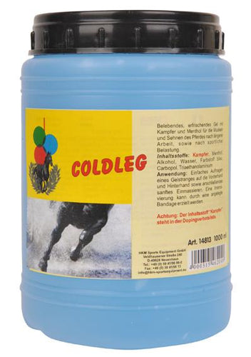 Animating and refreshing cool gel 1 L