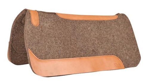 Western pad with wool felt -Classic-