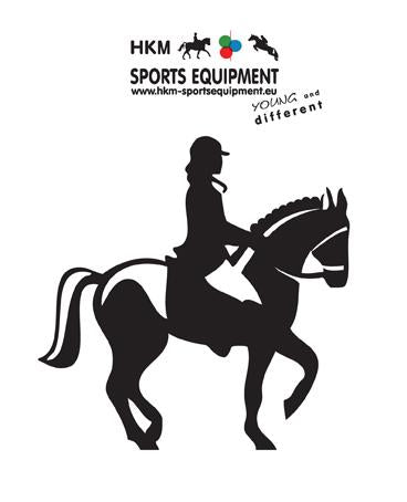 Car sticker -dressage rider-