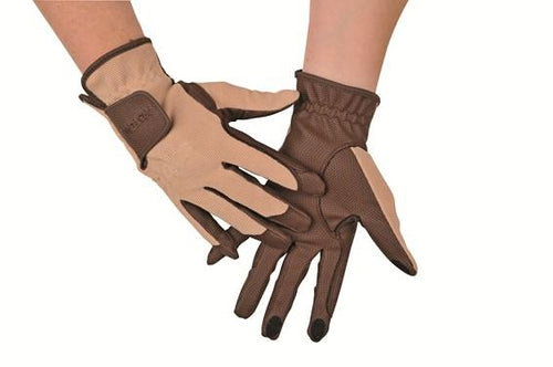 Riding gloves with touchscreen function