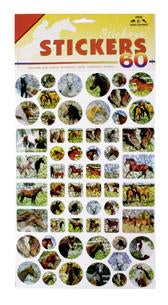 Glittering stickers (Set of 10)
