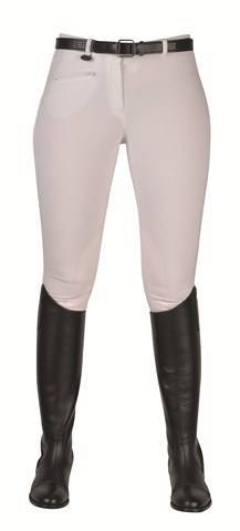 Breeches -Bochum- with imit. leather knee patch