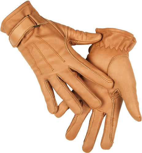 Gloves made of nappa leather