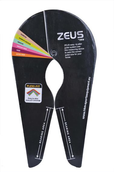 Measure stencil for Zeus-saddles