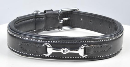 Leather dog collar -Bit-