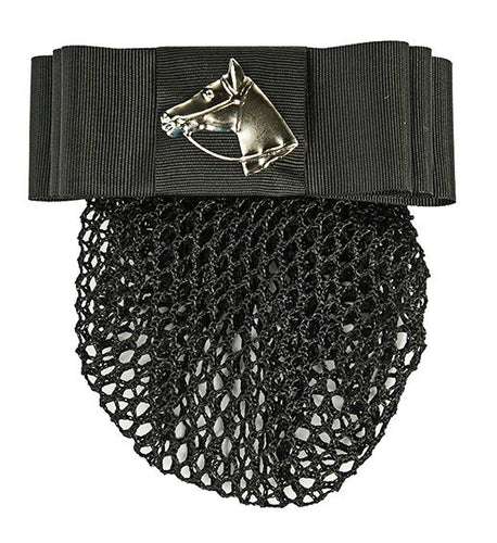 Hairslide with net -horse head-