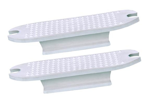 Rubber insole for flexible stirrup per pair
