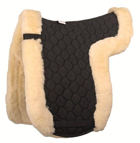 Lambswool numnah Dressage