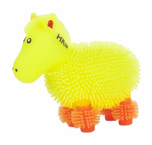 Squeeze Horse with blinking light (Set of 12)