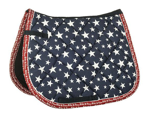 Saddle cloth -Stars- Bibi & Tina