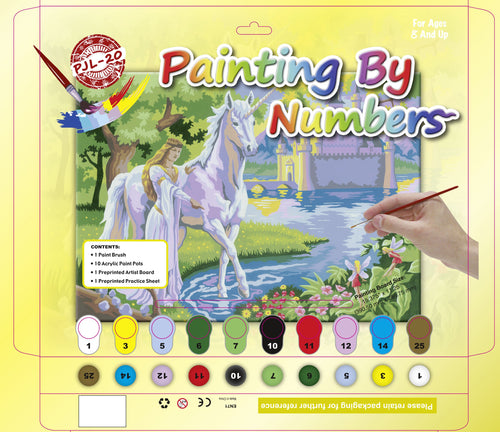 Painting by Numbers - Unicorn - (Set of 3)