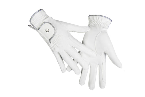Riding gloves -Silver Stream-