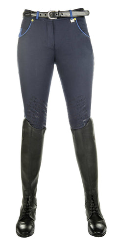 Riding breeches -Flash- Silicone knee patch