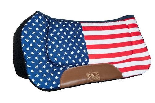 Western pad -Stars & Stripes-