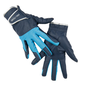 Riding gloves -Neon Sports- with Elastic