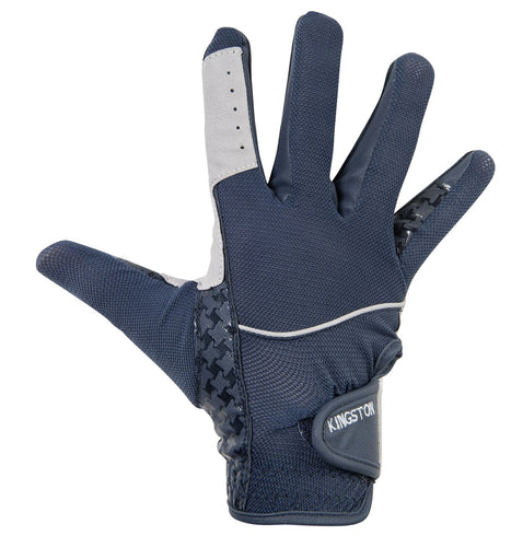 Riding gloves -Highland- silicone print