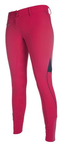 Riding breeches -Neon Sports Team- 3/4 silicone fu