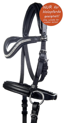 Bitless bridle -Funny Horses- for wooden horses