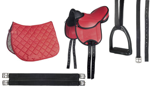 Shetland pony saddle set -Beginner-