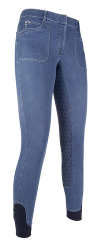 Riding breeches -Santa Rosa Denim- silicone seat