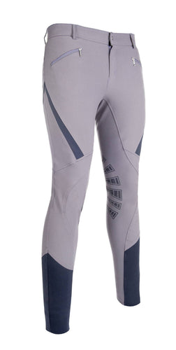 Men's riding breeches -Highland- Silicone knee