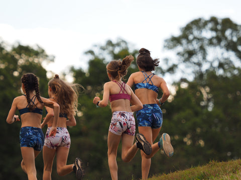 teen running apparel