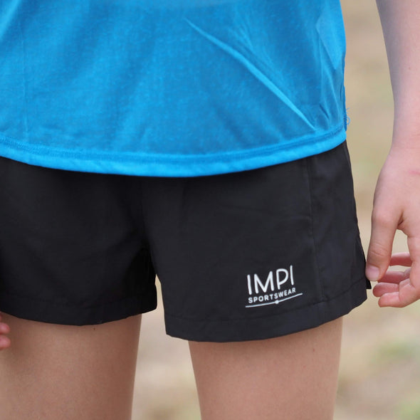 teen running shorts