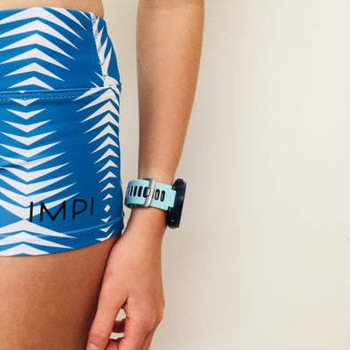 Blue Tribal Little Impi Running Pants