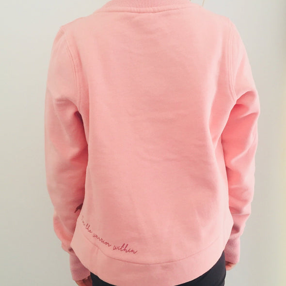 teen crop fleece
