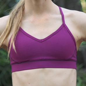 New Berry Strappy Bra Top